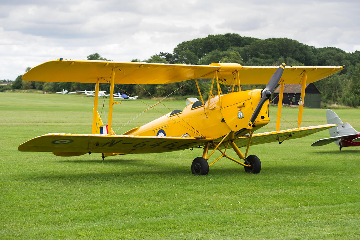 De Havilland Tiger Moth trainer