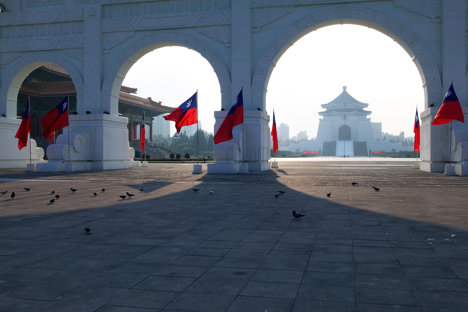 Gateway to Chiang Kai-shek Memorial Hall