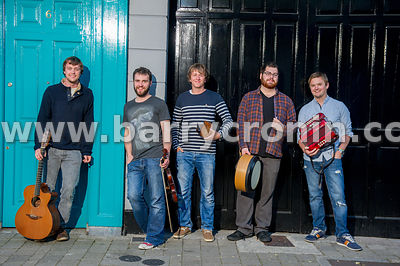 12th September, 2014.The band Porterhead from left to right:  Joe Junker, Lorcan Brady,James Frawley,Paul McClure and Liam Ki...
