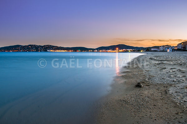 Sunset lights at Port Grimaud