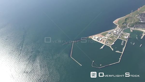 Coastal area of ​​the North Sea - island Helgoland in the state Schleswig-Holstein