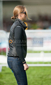 - dressage phase,  Land Rover Burghley Horse Trials, 31st August 2012.