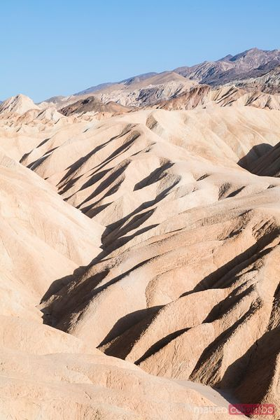 Zabriskie point, Death valley national park, USA