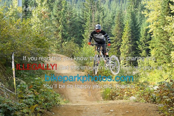 TUESDAY SEPTEMBER 4th ALINE FIRST HIT bike park photos
