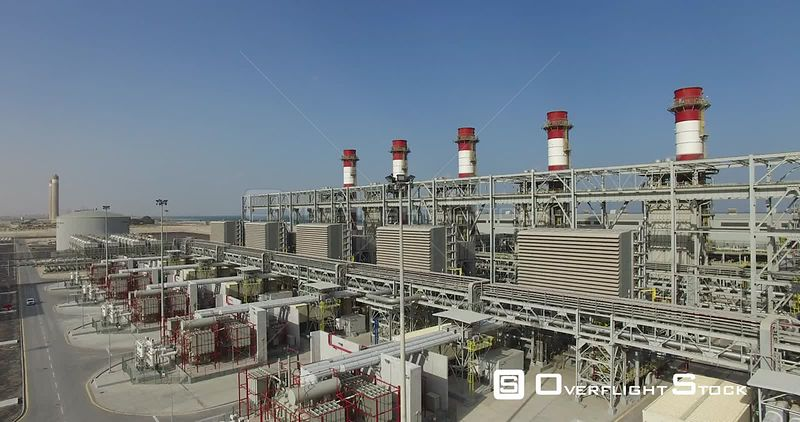 Qurayyah Gas Fired Combined Cycle Power Plant CCPP Saudi Arabia
