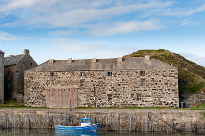 Portsoy harbour