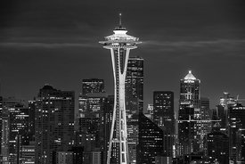 'Goodnight Seattle We Love You'   Seattle 2018  Photographer Neil Emmerson  £975 inc uk vat  Edition of 25