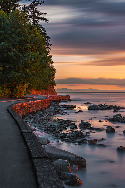 Seawall Sunset