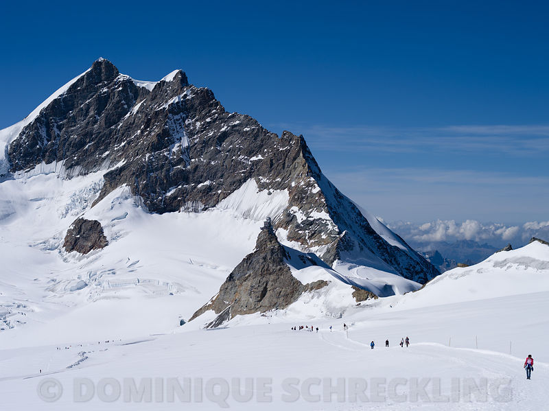 Jungfrau and Sphinx