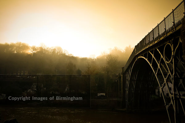 The Ironbridge, Telford, Ironbridge Gorge, Shropshire, England, UK. WOrld Heritage site.