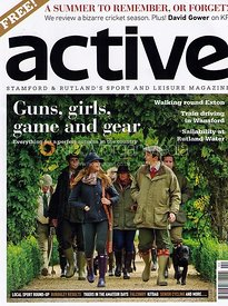 Active Magazine cover, October 2012
