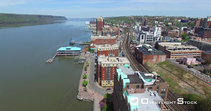 Yonkers and Hudson River New York