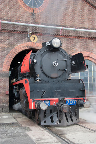 steam engine R707