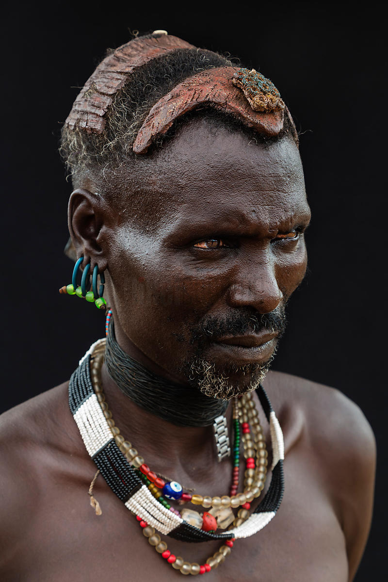 Portrait of a Hamar Tribesman