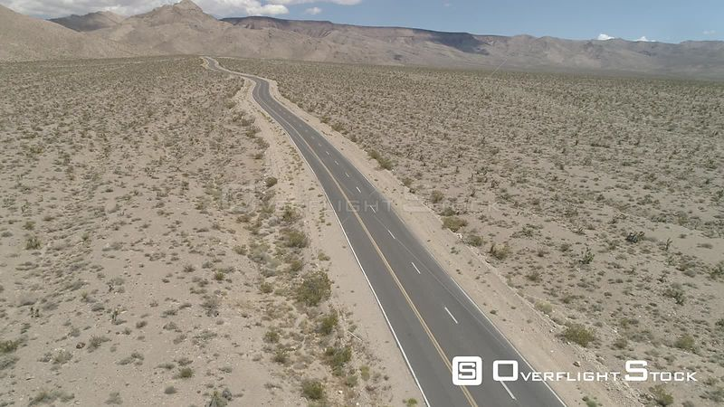 Isolated Desert Road Nevada