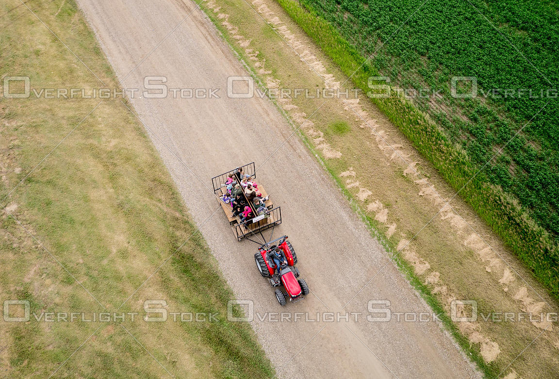Tractor Ride Windscape Kite Festival Swift Current Saskatchewan