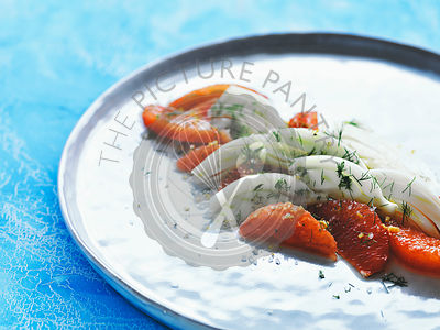 Fennel salad with grapefruit