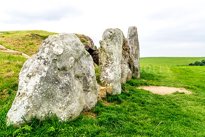 West Kennet Long Barrow- Near Avebury Henge