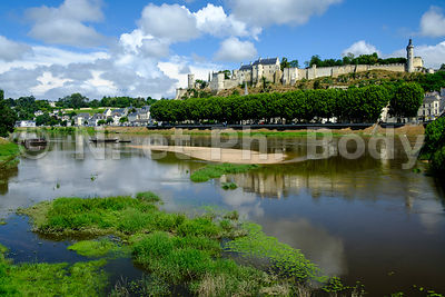 INDRE ET LOIRE, CHATEAU DE CHINON//LOIRE VALLEY, CASTLE OF CHINON