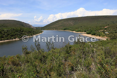 Rio Tietar from La Higuerilla viewpoint, Monfrague National Park, Extremadura, Spain
