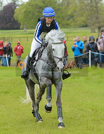Tiana Coudray and RINGWOOD MAGISTER - Cross Country phase, Mitsubishi Motors Badminton Horse Trials 2014