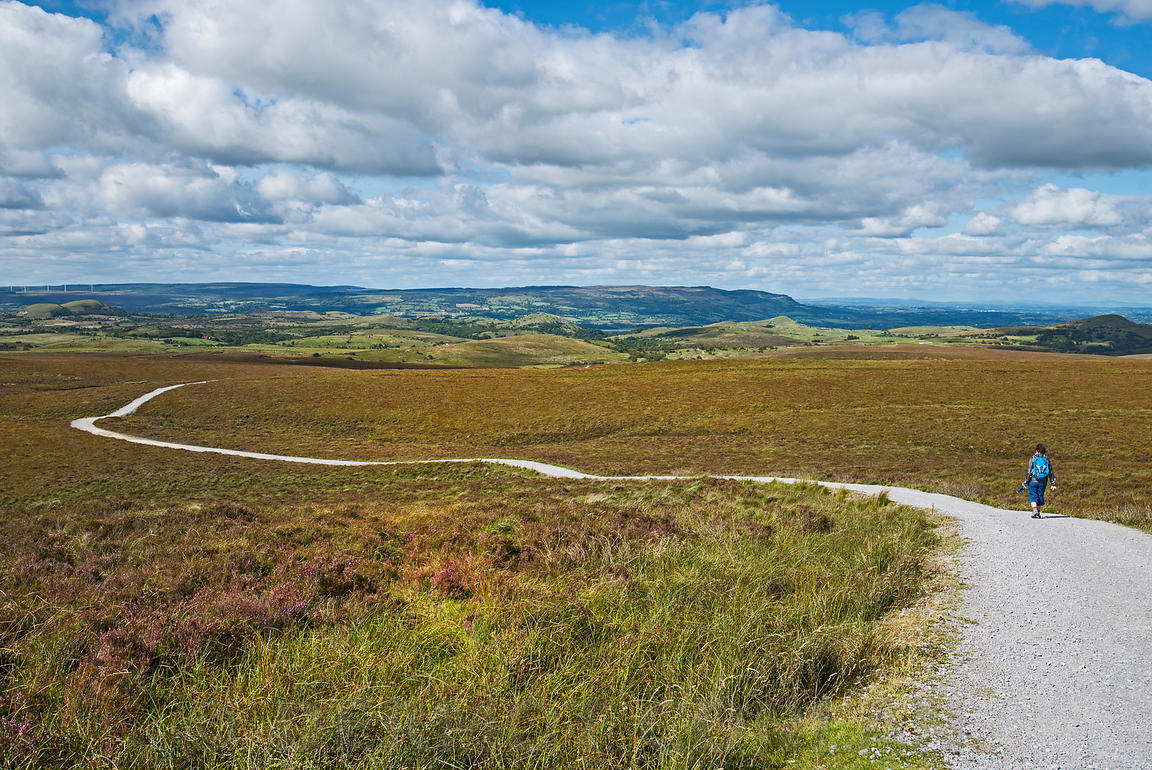 Cuilcagh Mountain trail, Cavan, Ireland