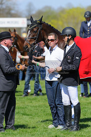 Jonathan Paget and Clifton Promise - show jumping phase,  Mitsubishi Motors Badminton Horse Trials, 6th May 2013.