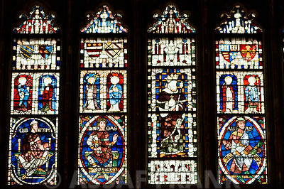 Window paintings in Cathedral