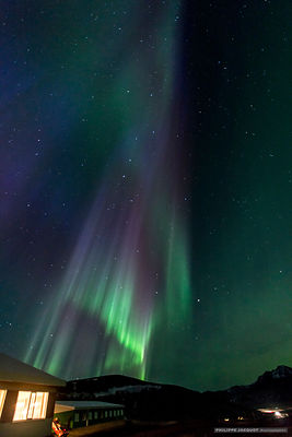 The Big Dipper Dazzled by the Aurora - Iceland