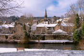 Bakewell on a snowy January morning | Peak District Photography