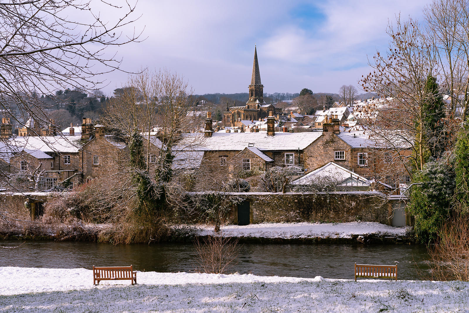Bakewell on a snowy January morning