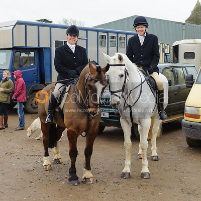 The Cottesmore Hunt at Glaston 17/2