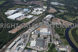 Langley Road Industrial area of Agecroft Salford