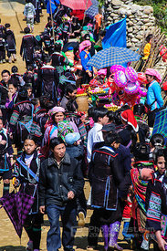 Activities at New Year Festival in Ta Van Village