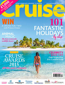 Cover Cruise International magazine 01-2016
