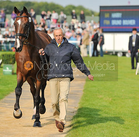 Bruno Bouvier and Harry - 2nd Inspection - Burghley 2010