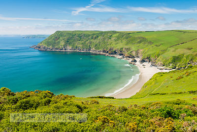 BP6418 - Lantic Bay, near Fowey