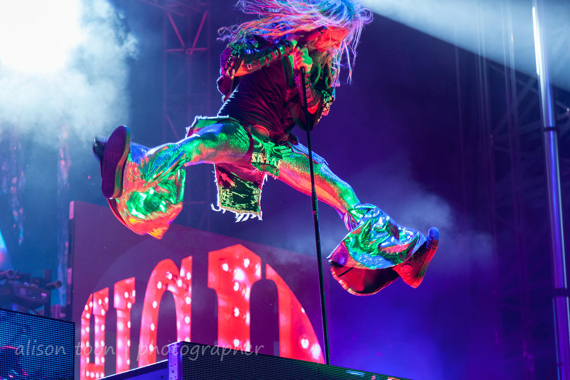 Rob Zombie, jumping, Louder Than Life