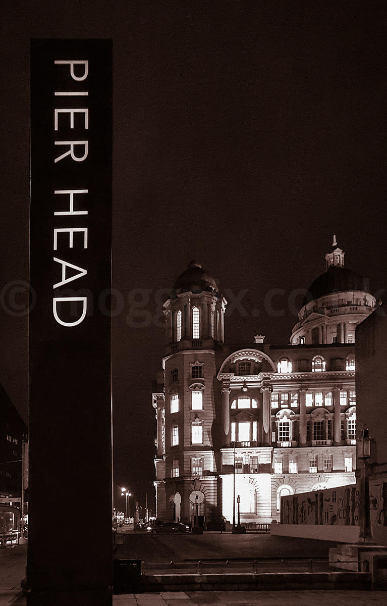 Pier Head Ahead