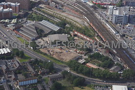 Mancunian Way Industrial sites bounded by Baring Street Bond Street Hoyle Street and Temperance Street near Piccadilly Railwa...