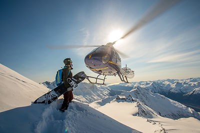 Lindsay Jacobellis. Points North Heli-Adventures. Cordova, Alaska.