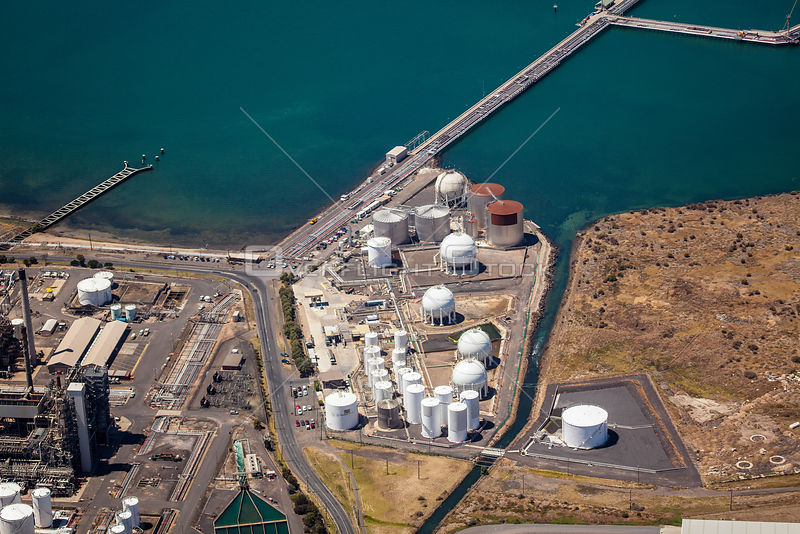 Chemical Plant in Corio near Geelong, Victoria Australia