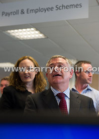 People Point HR and Shared pesnion services opening of new HQ at Belfield Office Park, Clonskeagh, Dublin.Pictured is Ministe...