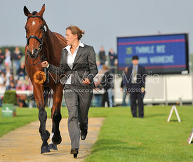 Anna Warnecke and Twinkle Bee - 2nd Inspection - Burghley 2010