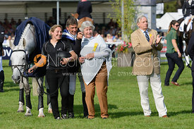 AVEBURY, Annabelle Gentili, Andrew Nicholson, Rosemary Barlow, Mark Barlow - show jumping phase, Burghley Horse Trials 2014.