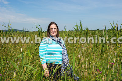 13th August, 2015.Mary O'Connor, ecologist photographed in the Kildare Fens, The Curragh, Co.Kildare...Photo:Barry Cronin/www...