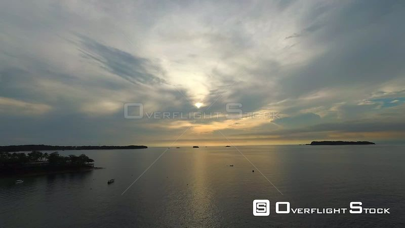 Drone Video of Isla Contadora Resort Island Panama