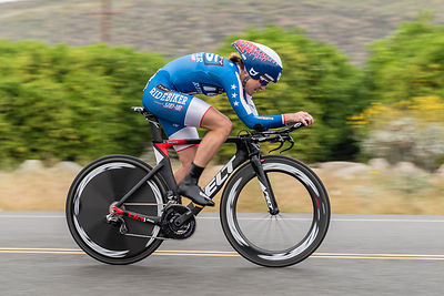 National time trial champion Kristin Armstrong (Twenty16 - RideBiker) wins stage 3 of the 2016 Redlands Bicycle Classic and t...