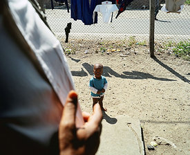 Black child, Gugulethu, Cape Town, South Africa