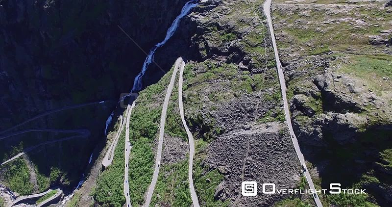 Trollstigen Road, Famous Tourism Road in Norway